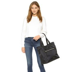 Marc Jacobs Nylon Biker Tote Bag Black